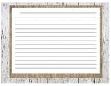 Lined Paper- Burlap