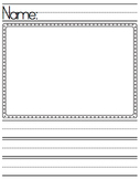 Lined Paper - Write & Draw