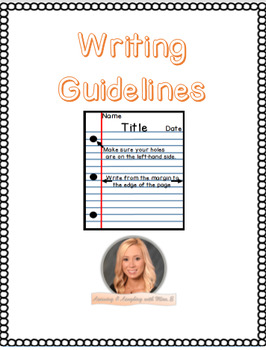 Lined Paper Writing Guidelines