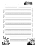 Lined Paper for Native American Essays