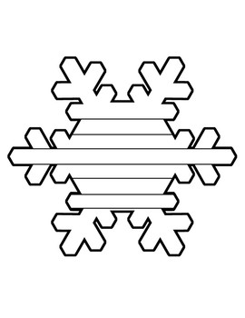 Lined Snowflake