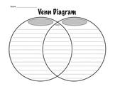 Lined Venn Diagram