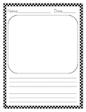 Lined Vertical Paper with 0-7 Lines