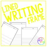 Lined Writing Frame