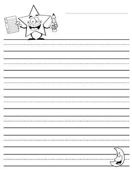Lined Writing Paper Collection