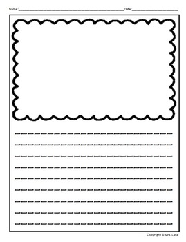 Lined Writing Paper Templates (Includes 100 Different Choices!)