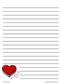 Lined Writing Paper for Every Month of the Year