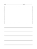 Primary Writing Paper with Picture
