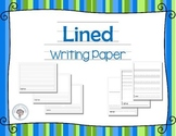 Lined Writing Papers