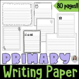 Lined Writing Papers with Borders and Pictures - Primary