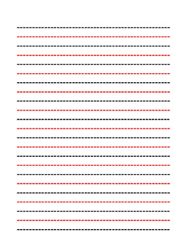 Lined paper pdf