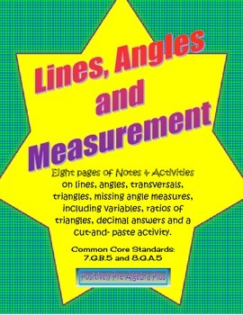 Lines & Angle Measurements
