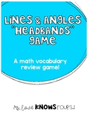 Lines & Angles HeadBands Game