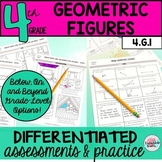Lines, Angles, Rays Worksheets Tests 4th Grade Geometry 4.