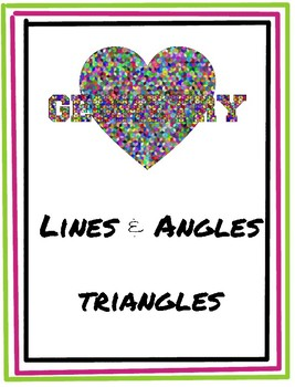 Lines, Angles and Triangles