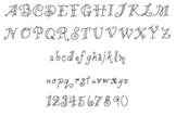 Lines & Curls Font