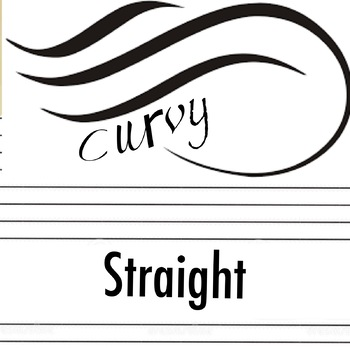 Lines: Curvy Straight