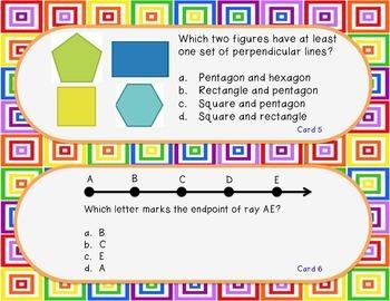 Lines, Line Segments & Angles