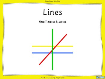 Lines - Parallel and Perpendicular, Horizontal and Vertical
