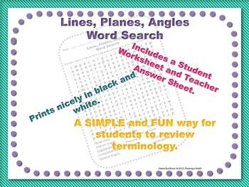 Lines, Planes, Angles Bundle