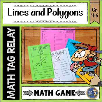Lines and Polygons Math Tag Relay