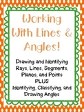 Lines, Rays, Planes, Points, Parallel, Perpendicular, Inte