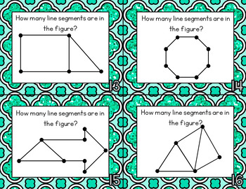 Lines, Rays, Segments Task Cards