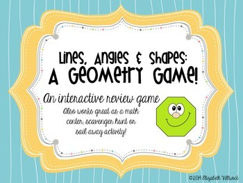 Lines, Angles, & Shapes: A Geometry Game