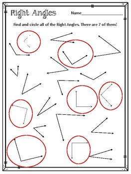 Lines \u0026 Right Angles Worksheets. Line. Line Segment. Ray. Horizontal. Vertical