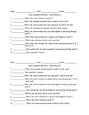 Lines, Segments, Points Quiz