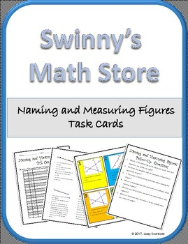 Task Cards: Points, Lines, Segments, Rays, Planes, and Angles