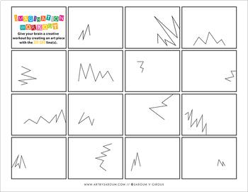 Lines Study Imagination Workout Printables