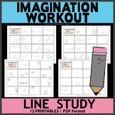 Lines Study Imagination Workout Printables