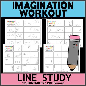 Lines Study Imagination Workout Printables by Saroum V ...