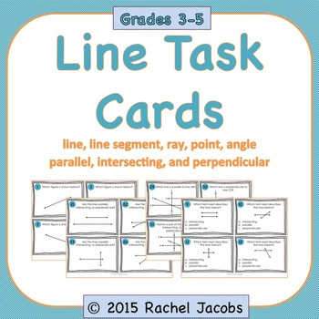 Lines Task Cards