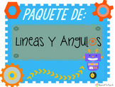 Lines and Angles - Bundle - Paquete Completo de Lineas y Angulos