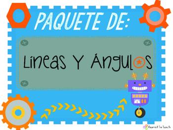 Lines and Angles - Bundle - Paquete Completo de Lineas y Angulos