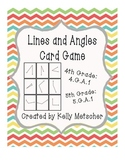Lines and Angles Card Game