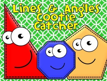 Lines and Angles Cootie Catchers