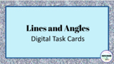 Lines and Angles Digital Task Cards