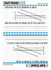 Lines and Angles - Exit Tickets - Spanish