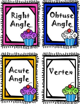 Lines and Angles Geometry Game - Common Core Aligned
