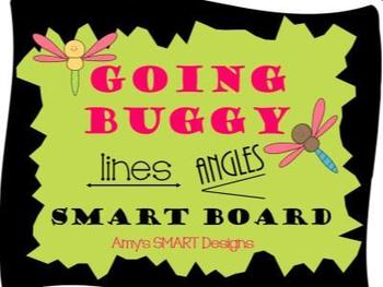 Lines and Angles: Going Buggy SMART Board Lesson