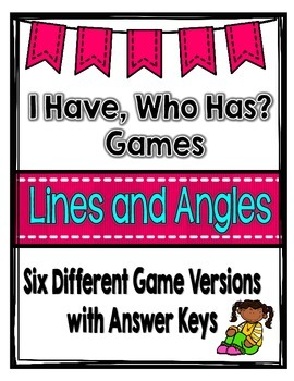 Lines and Angles Games