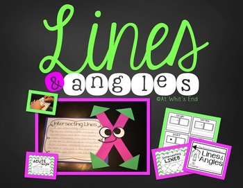 Lines and Angles {Interactive Book and Classroom Posters}