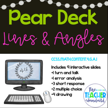 Lines and Angles Pear Deck