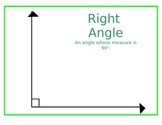 Lines and Angles Posters