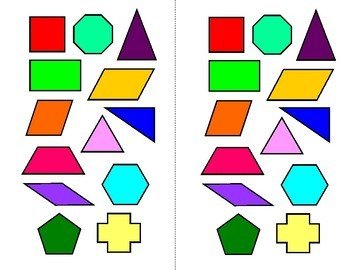 Lines and Angles Shape Sort