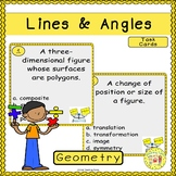 Lines and Angles Task Cards