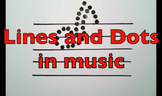 Lines and Dots in Music
